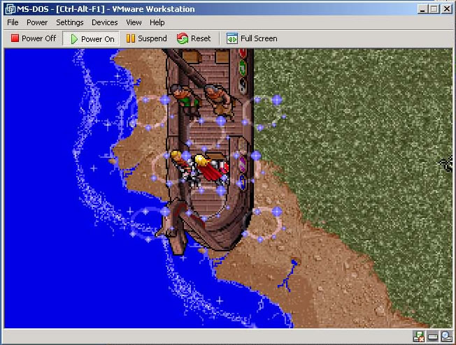 Ultima VII In Win2000 ScreenShot