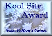 Colleen's Corner Cool Site Award